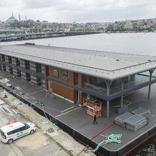 Karaköy, yeni iskelesine kavuşuyor