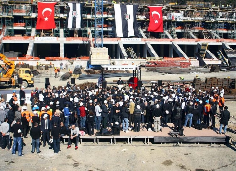 Beşiktaş, 111. yaşını kutladı