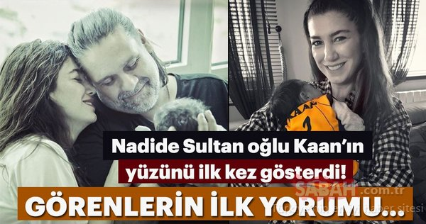 Nadide Sultan oğlu Kaan'ın yüzünü ilk kez gösterdi! Ünlülerin merak edilen çocukları