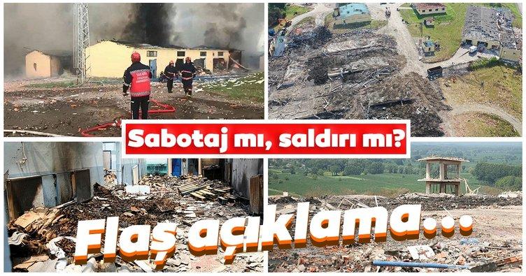 Son dakika: Sakarya'daki havai fişek fabrikasındaki patlama sabotaj mı, saldırı mı? Kayıp işçi ile ilgili Vali Kaldırım'dan açıklama