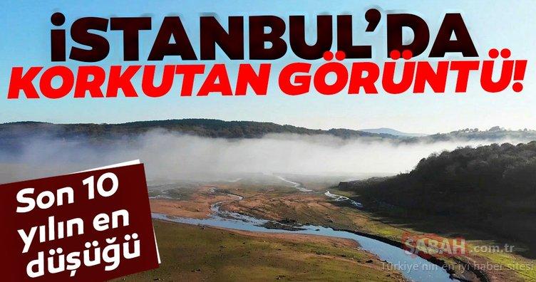 İstanbul'da korkutan görüntü! Son 10 yılın en düşüğü...
