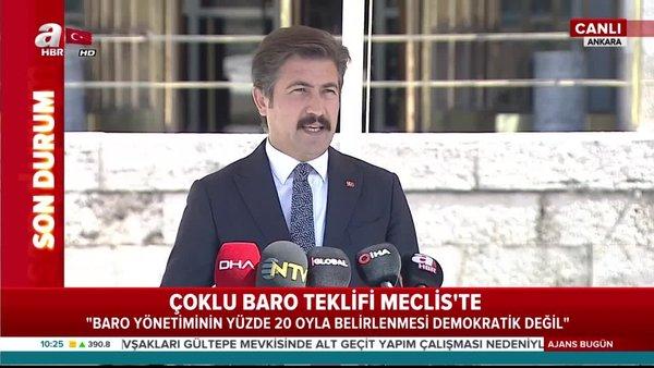Son Dakika: AK Parti'den Çoklu Baro Teklifi hakkında flaş açıklama!   Video