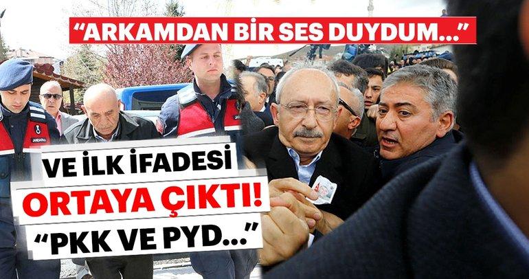 SON DAKİKA - Kılıçdaroğlu'na saldıran Osman Sarıgün'ün ilk ifadesi ortaya çıktı! Önce peşinden gittim...