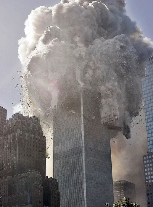 11 Eylül Saldırısından Muhtemelen Şimdiye Kadar Hiç Görmediğiniz 24 Çarpıcı Fotoğraf