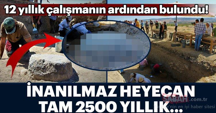 Amasya'da bulundu! Tam 2500 yıllık...