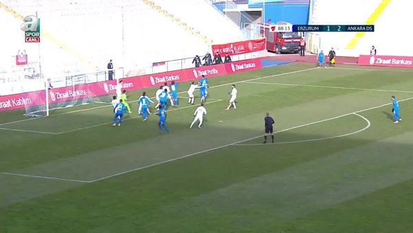 GOL | BB Erzurumspor 2-2 Ankara Demirspor