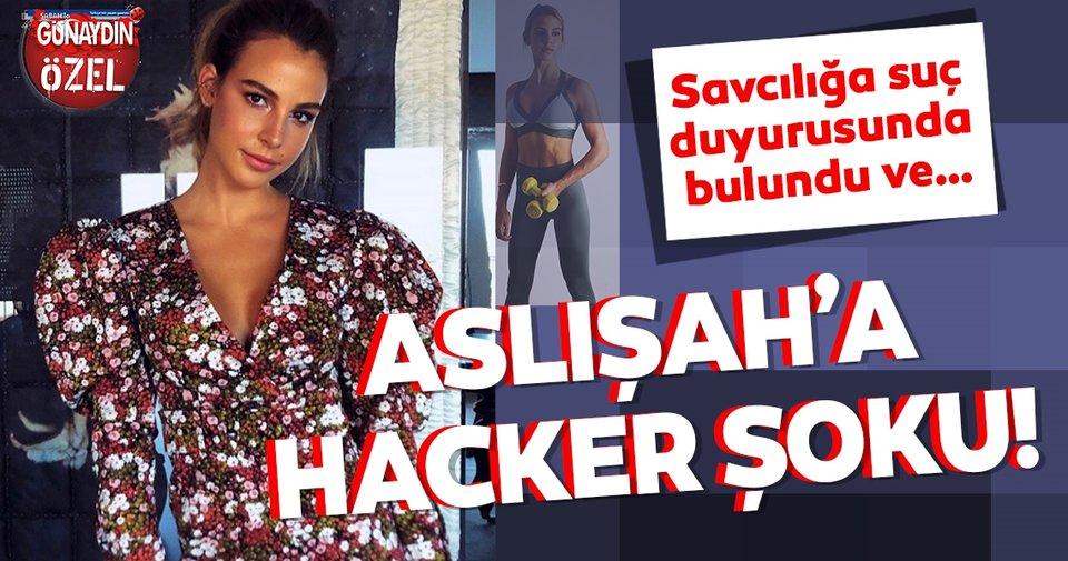 Aslışah Alkoçlar hacker şoku! Savcılığa suç duyurusunda bulundu