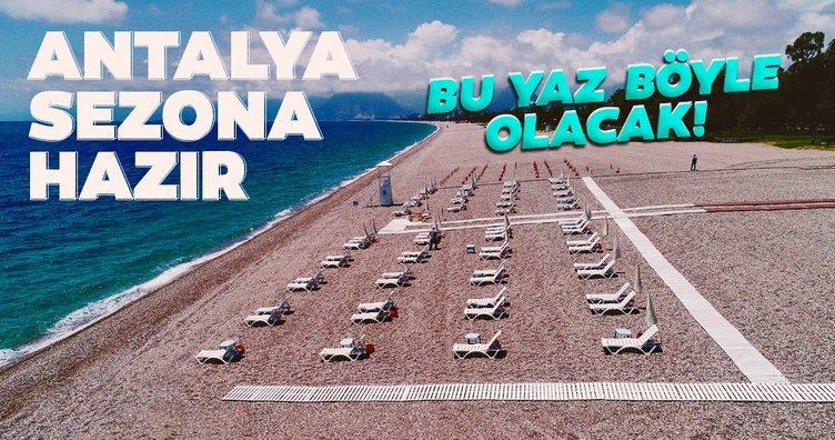 Dünyaca ünlü sahil, yeni döneme hazır! Bu yaz böyle olacak!