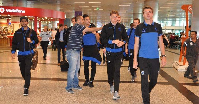 Brugge, Başakşehir maçı için İstanbul'da