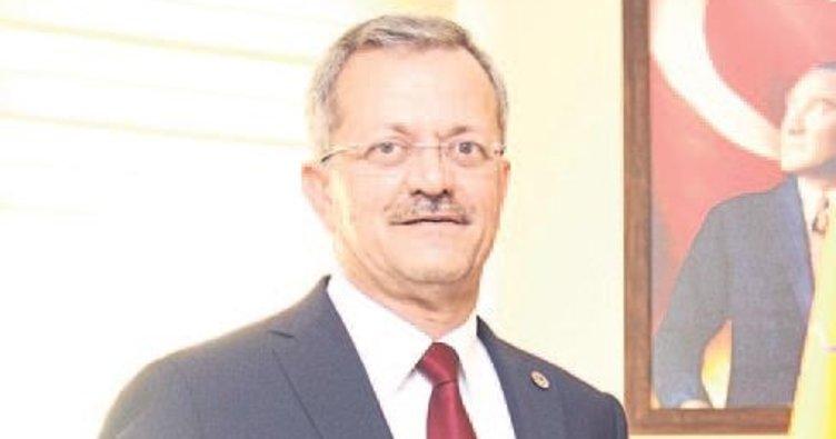 Sabri Tekli OSBÜK yönetiminde