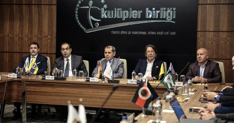 Kulüpler Birliği'nden VAR ve yabancı futbolcu kuralı açıklaması