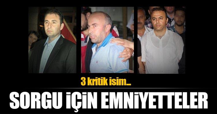 Eski polis müdürü Yakup Saygılı ve yardımcıları sorguda