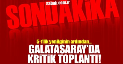 Son dakika: Galatasaray'da kritik toplantı kararı!