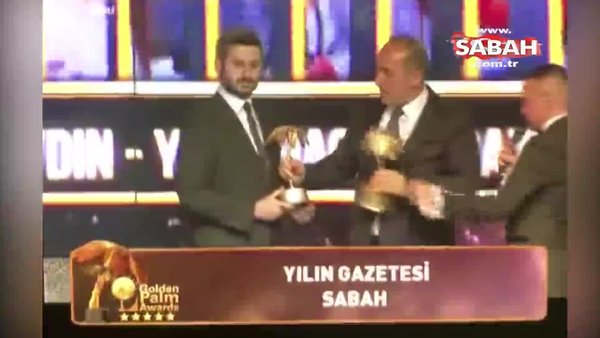 Sabah Gazetesi ve Günaydın'a verilen ödülleri Ömer Karahan, Vakkas Altınbaş'ın elinden aldı!