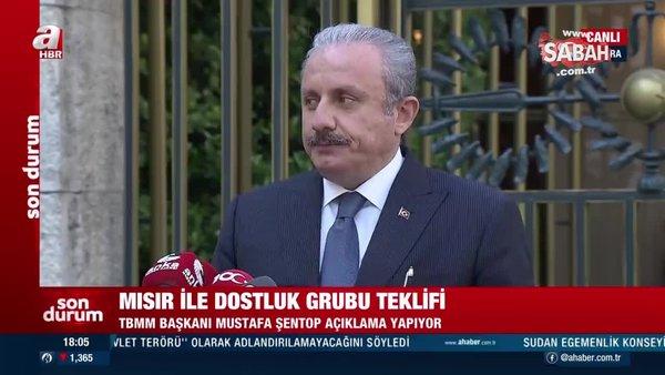 TBMM Başkanı Mustafa Şentop'tan gündeme ilişkin önemli açıklamalar | Video