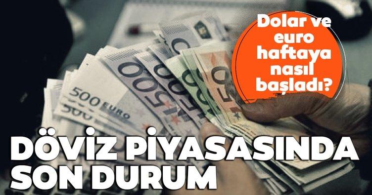 Son dakika: Dolar ve euro haftaya nasıl başladı? Döviz piyasasında son durum...