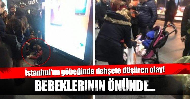 İstanbul'un göbeğinde dehşete düşüren olay!