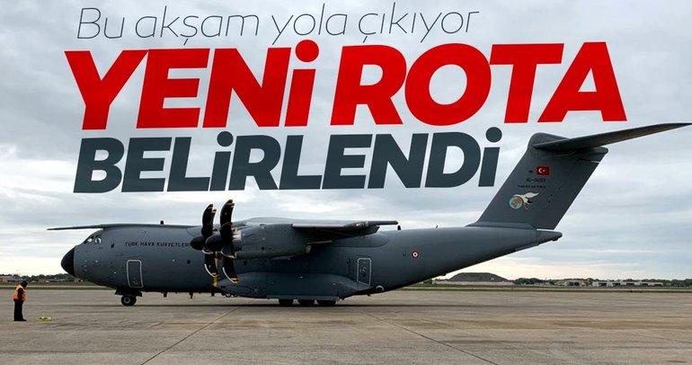 SON DAKİKA! Yeni yardım uçağımız bugün havalanıyor; Rota Somali...