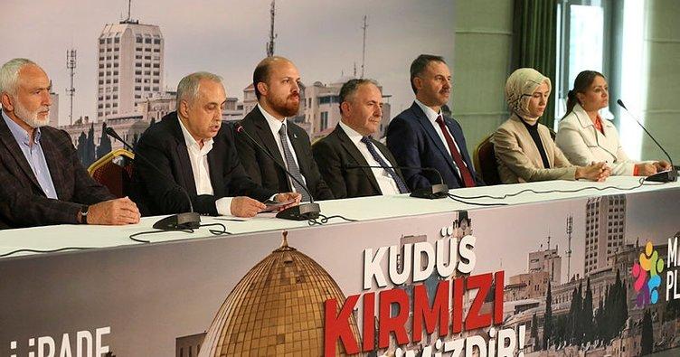 Milli İrade Platformu'ndan İsrail'in katliamına tepki