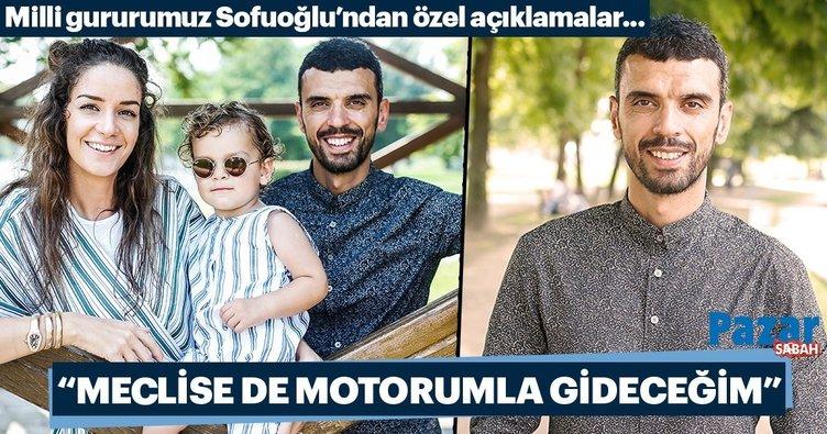 Kenan Sofuoğlu: Motorumun sesinden TBMM'ye anlayacaklar geldiğimi