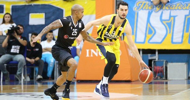 Fenerbahçe Beko: 84 - Beşiktaş Sompo Sigorta: 80 (Maç sonucu)