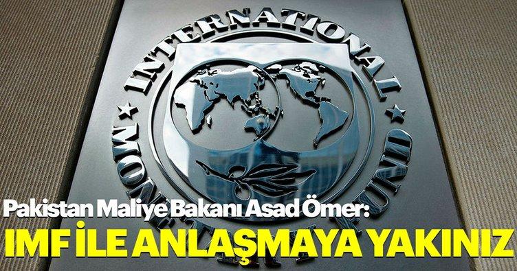 Pakistan Maliye Bakanı Asad Ömer: IMF ile anlaşmaya yakınız