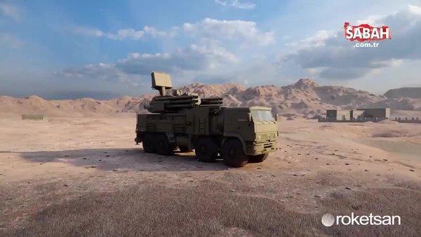 Roketsan'dan Türk SİHA'larını hedef alan Rusya'ya misilleme! | Video