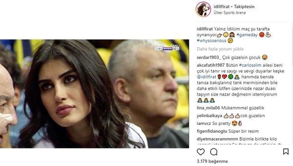 Ünlü isimlerin Instagram paylaşımları (06.04.2018) (Özge Ulusoy)