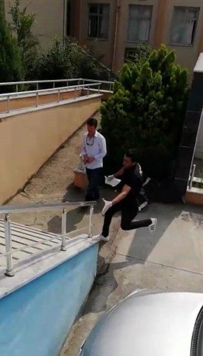 Koşarak teslim etti! Herkes o polisi konuşuyor...
