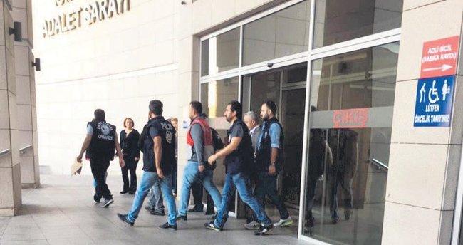 Cezaevi ve adliyelerde FETÖ operasyonu: 134 gözaltı