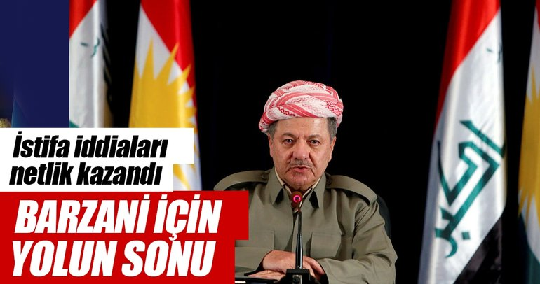 Barzani IKBY Başkanlığından istifa etti