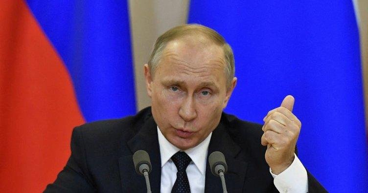Putin: Trump Rusya'ya sır vermedi, bunu kanıtlayabilirim