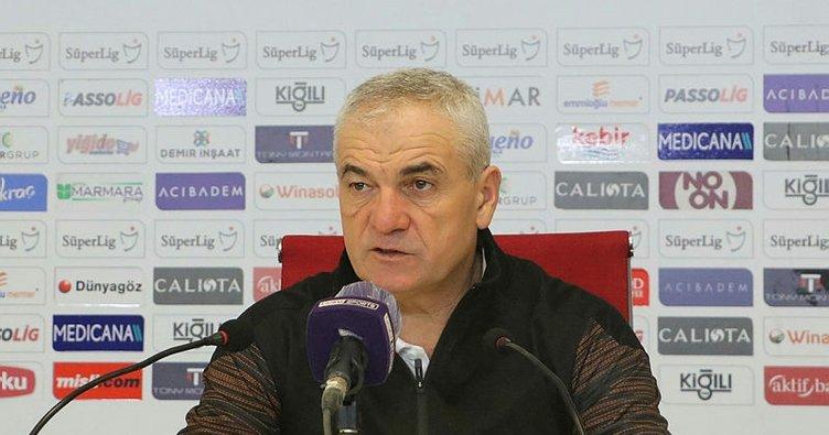Sivasspor Teknik Direktörü Rıza Çalımbay'dan Galatasaray sözleri!