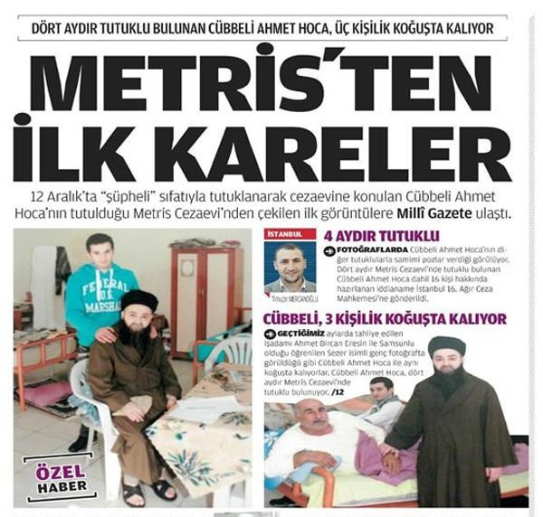 Cübbeli Ahmet Hoca tutuklandı
