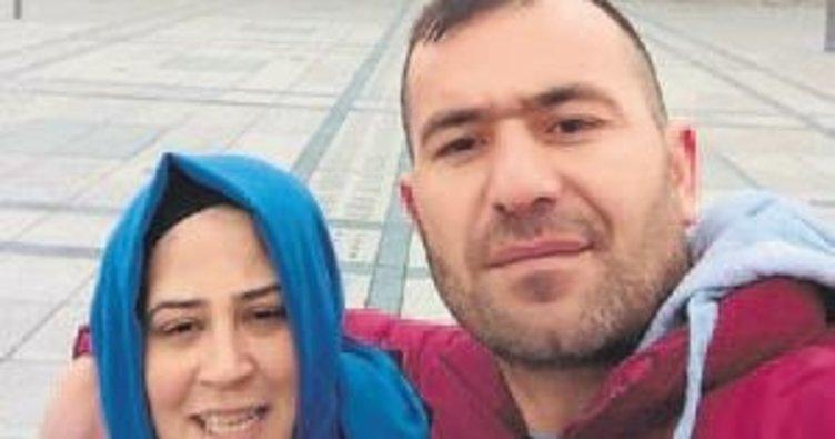 Cezaevinden izin aldı eşinin boğazını kesti