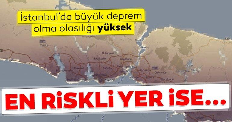 Beklenen deprem ile ilgili son dakika açıklamaları geldi! İstanbul'da büyük deprem olma olasılığı yüksek! Riskli olan yer...