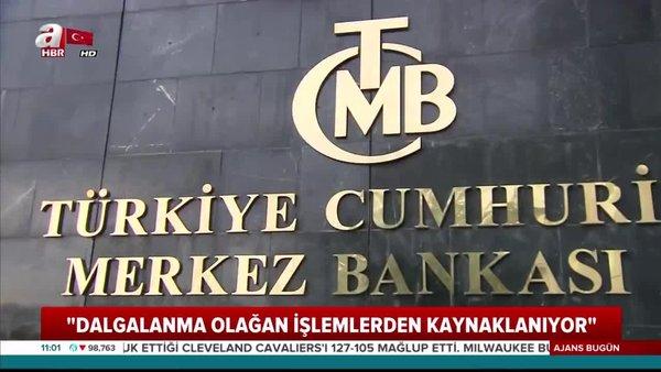 Merkez BankasıBaşkanı Çetinkaya'dan açıklama