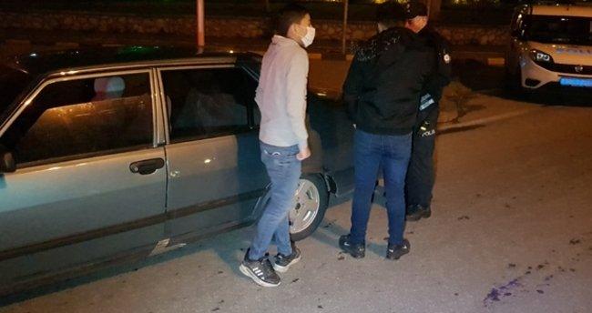 Karabük'te kurallara uymayan 2 kişiye para cezası