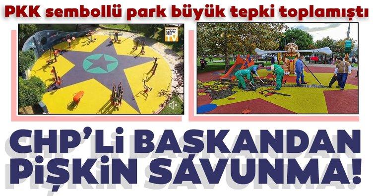Son dakika: PKK sembollü parka CHP'li Başkandan pişkin savunma!