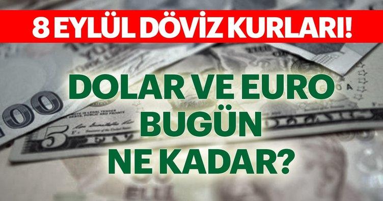 Son dakika haberi: Dolar bugün ne kadar kaç TL? 8 Eylül Dolar ve Euro fiyatları alış satış rakamları