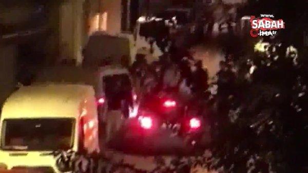 Zeytinburnu'nda şampiyonluk kutlamasında kavga çıktı | Video
