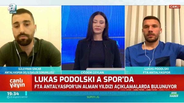 Podolski'den Flaş Transfer İtirafı / Ana Haber / 04.05.2020