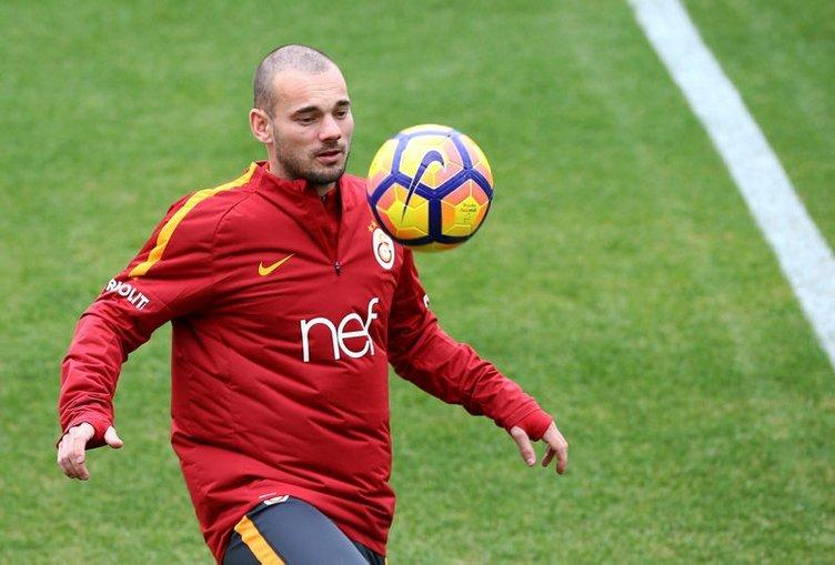 Sneijder'den Dursun Özbek'i çıldırtan hareket!