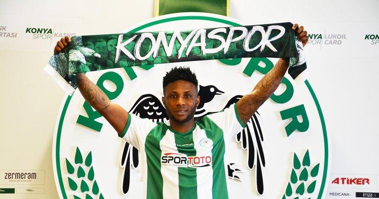 Atiker Konyaspor, Imoh Ezekiel ile 3 yıllığına anlaştı