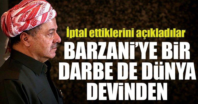 Barzani'ye bir darbe de dünya devinden