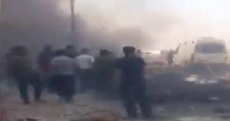 Son Dakika: Afrin'de patlama! Ölenler var