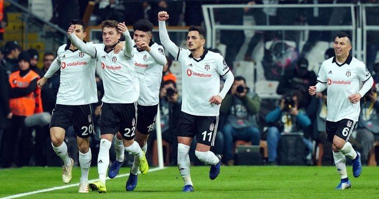 Beşiktaş'ta çarpıcı değişim