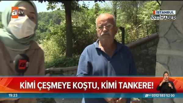 İstanbul'da yine su taşıma çilesi! | Video