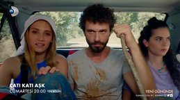 Çatı Katı Aşk 9. Bölüm Fragmanı yayınlandı izle | Video