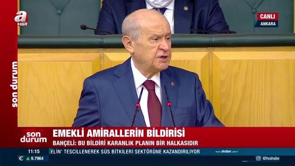 MHP Lideri Devlet Bahçeli'den sert tepki